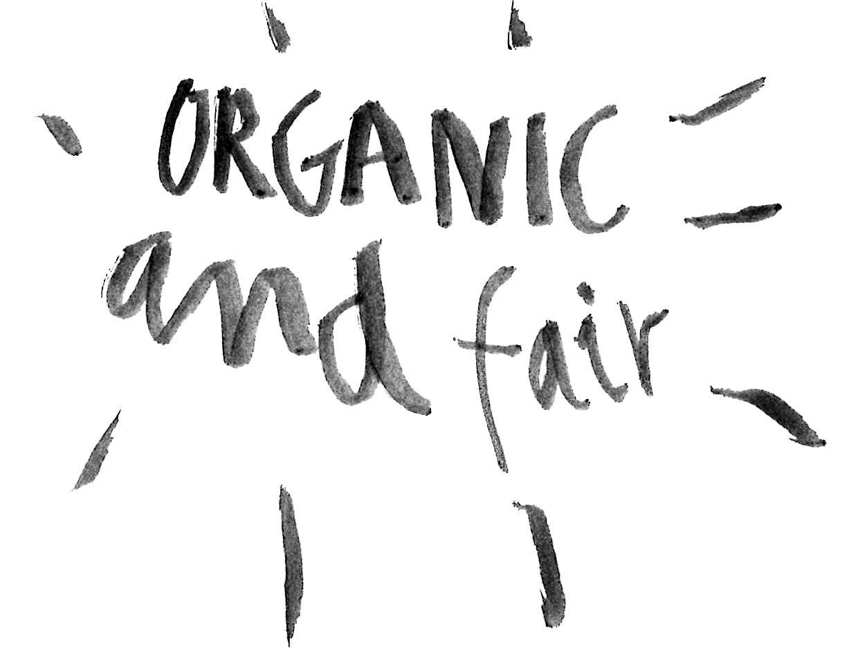 organic and fair