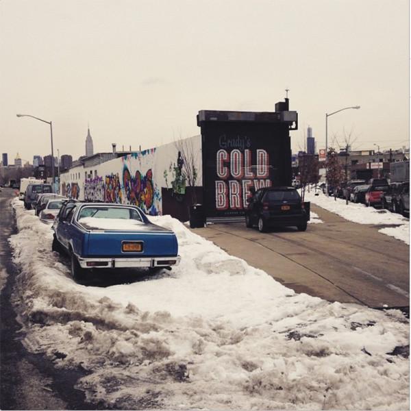 It's freezing NYC! #macaronsfashionroundtrip