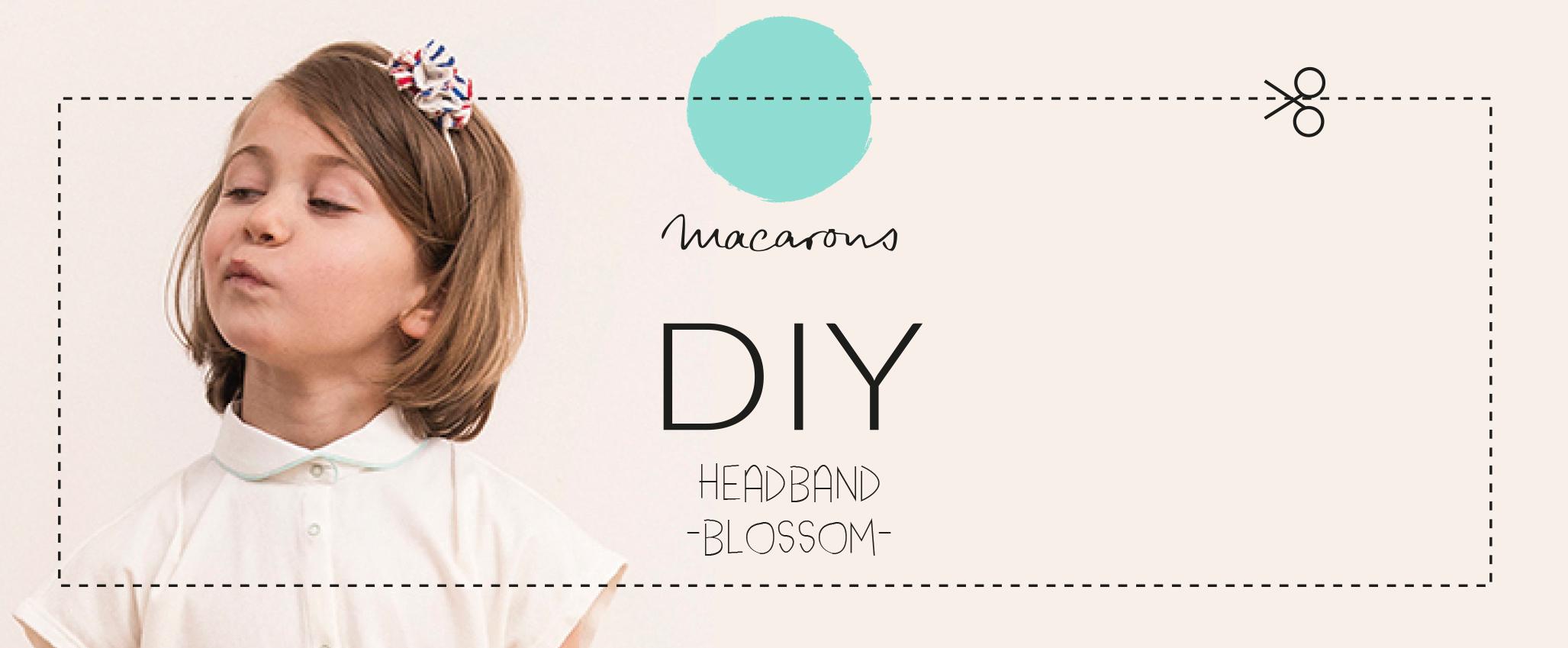 DIY Headband Blossom